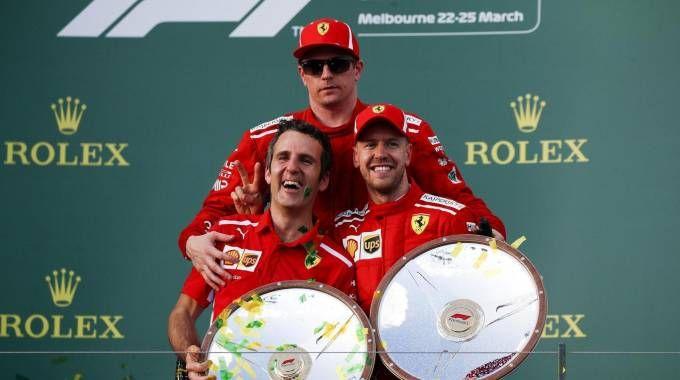 Inaki Rueda, stratega Ferrari con Kimi e Seb (Ansa)