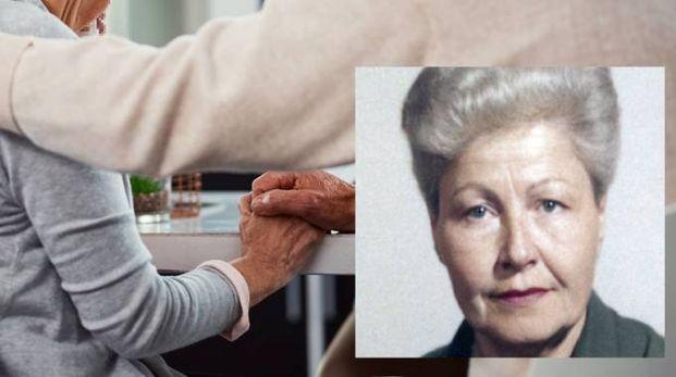 Cure agli anziani. Nel riquadro Carla Alberti
