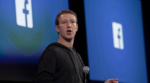 Mark Zuckerberg, ceo Facebook (Ansa)