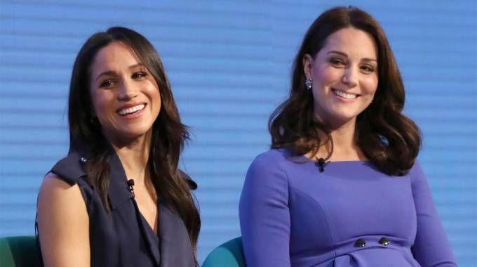 Meghan Markle e Kate Middleton Foto: LaPresse