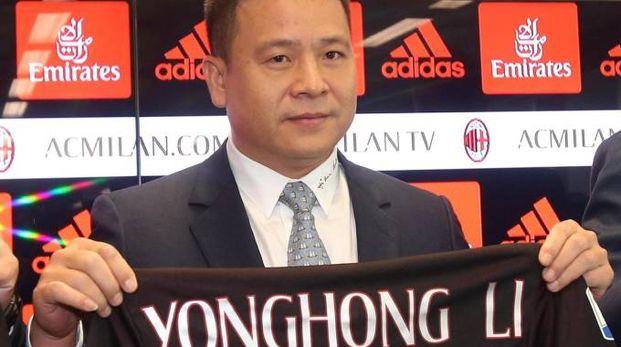 Yonghong Li cerca acquirenti per il Milan (Ansa)
