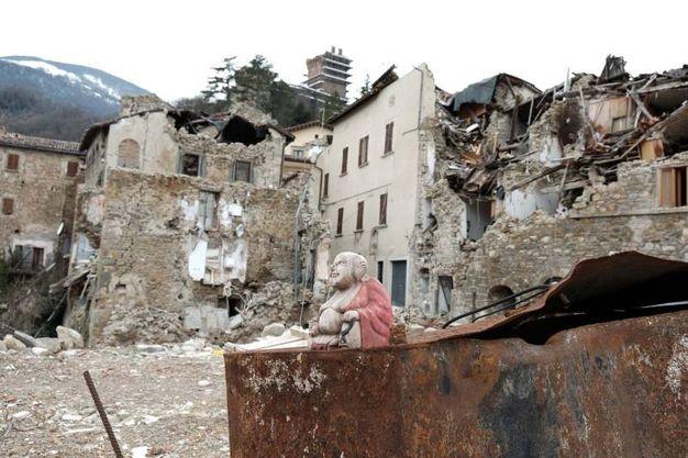 Una città fantasma (foto Labolognese)