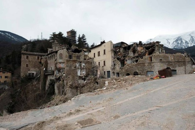 Come bombardata (foto Labolognese)