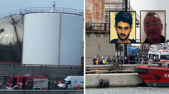 Il silos crollato (Novi), i soccorsi, (Lanari) e le due vittime