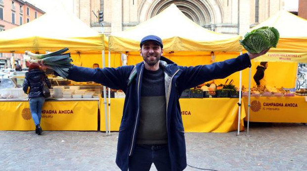 Il gourmet Stefano ha idea il menù di Pasqua che unsice Emilia e Marche (Foto Schicchi)