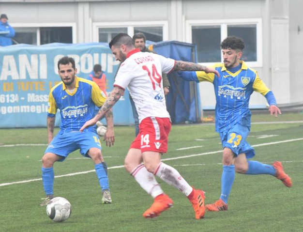 Carrarese-Piacenza 2-0, le foto della partita (Delia)
