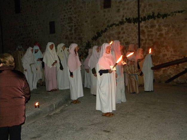 Le Confraternite sono tra i protagonisti della Via Crucis a Norcia