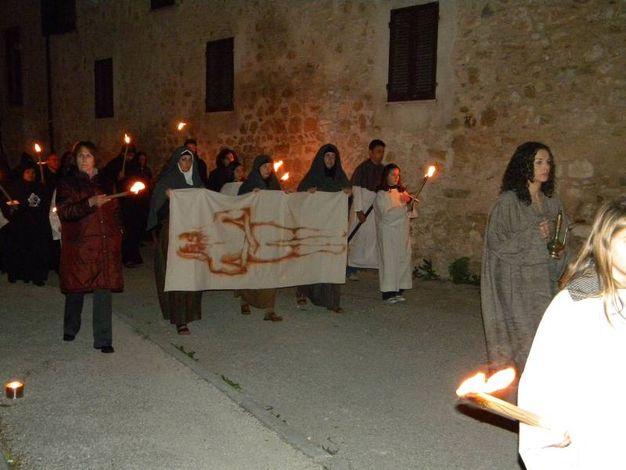Norcia non ha rinunciato alla sua Via Crucis nemmeno dopo il terremoto