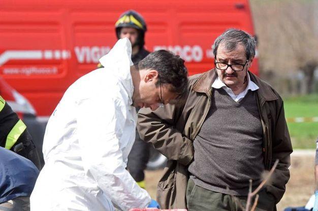 Il pozzo dell'orrore a Porto Recanati (foto Federico De Marco)