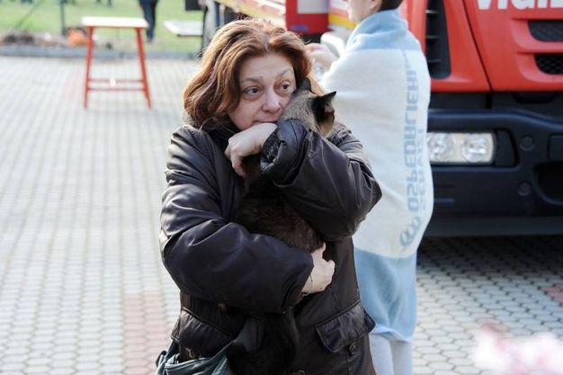 Palazzina crollata a Rescaldina, lo choc dei sopravvissuti