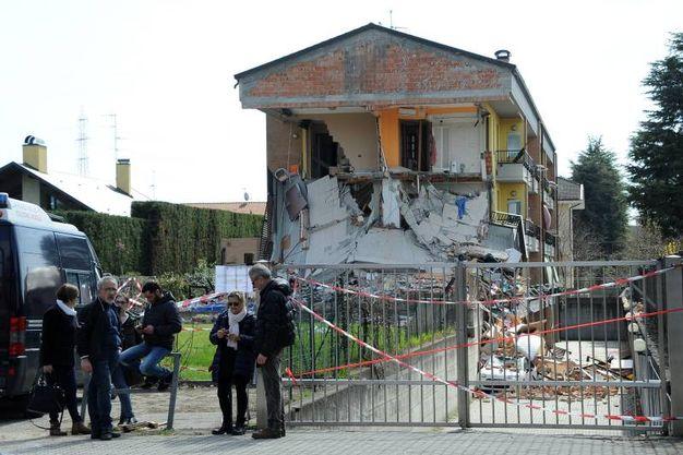 Crollo di una palazzina a Rescaldina