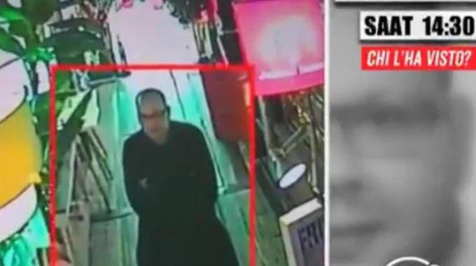 """Un fermo immagine trasmesso in Turchia e rilanciato da """"Chi l'ha visto?"""""""