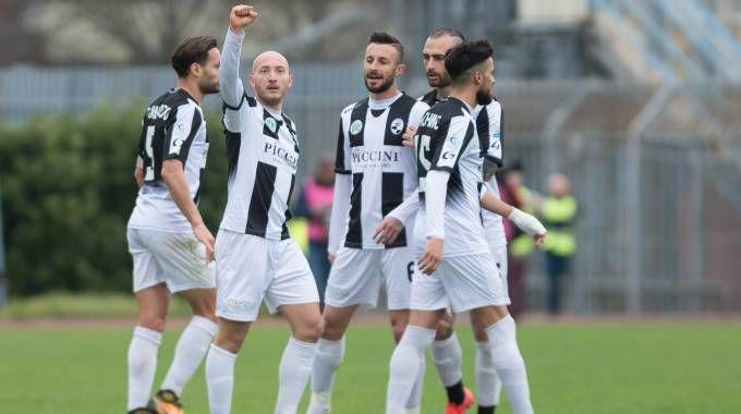 L'esultanza dopo il gol della vittoria (Lapresse)