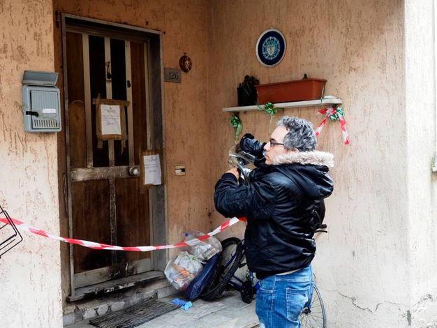 Il palazzo dell'omicidio (Foto Pasquali)