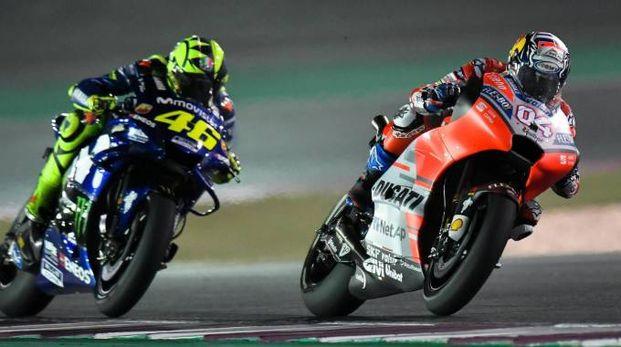Motogp Argentina 2018, Rossi e Dovizioso lanciano la sfida a Marquez (Ansa)