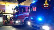 L'incendio a Montelupo