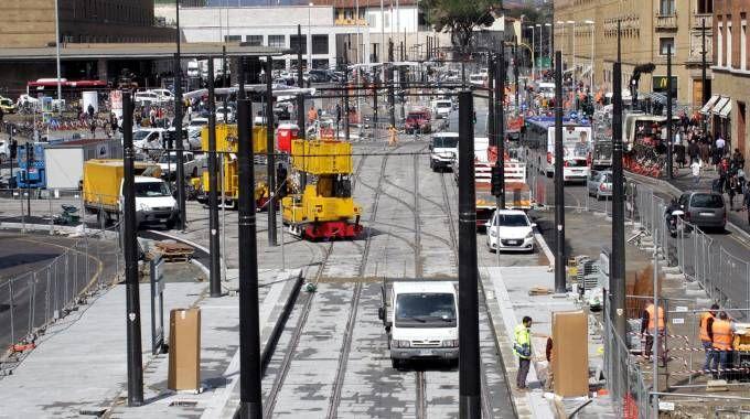 Ecco com'è ora piazza della Stazione (Umberto Visintini / New Press Photo)