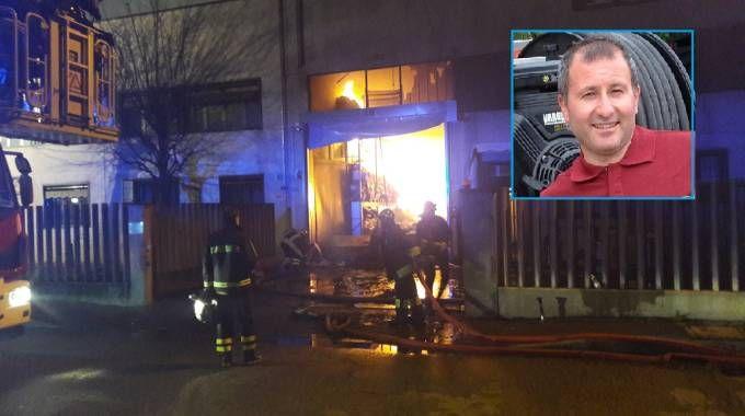 Incendio in capannone a San Donato, Pinuccio La Vigna, morto nel crollo del tetto