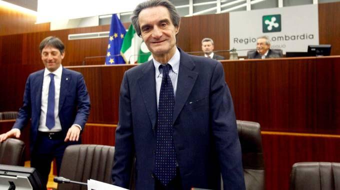 Attilio Fontana ex sindaco di Varese e presidente  della Regione Lombardia