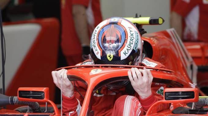 Formula 1 Gp Bahrain, Kimi Raikkonen (Ansa)