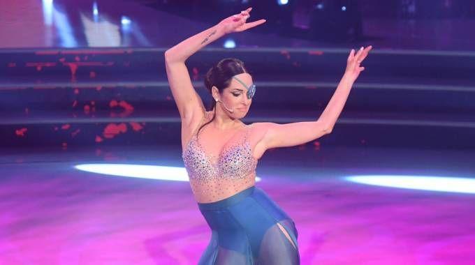 Gessica Notaro a 'Ballando con le stelle' (Lapresse)