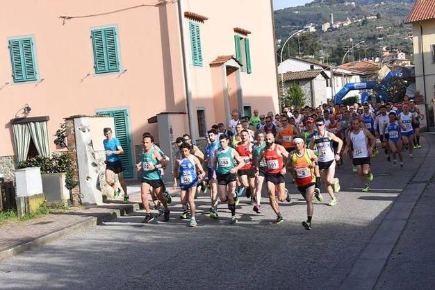 Maratonina del Ghibellino a Massa e Cozzile (foto Regalami un sorriso onlus)