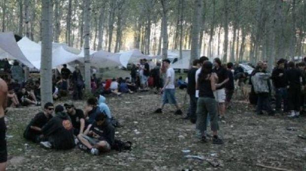 Il Rave Party è stato organizzato nelle valli di Comacchio con il passa parola  (foto d'archivio)