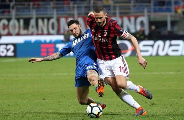 Milan-Sassuolo, finisce 1-1 (foto Ansa)