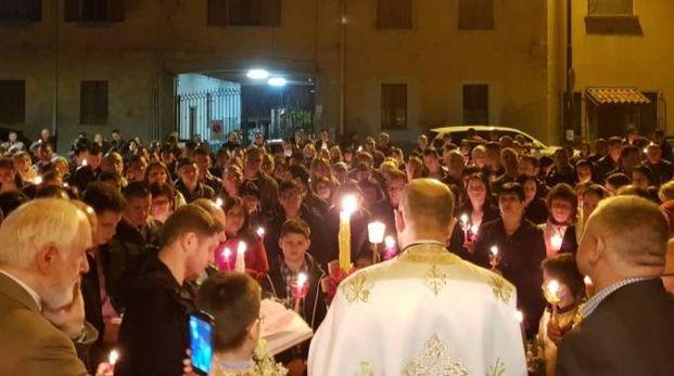 Tanti i fedeli presenti alla celebrazione