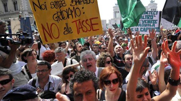Manifestazione (Ansa)
