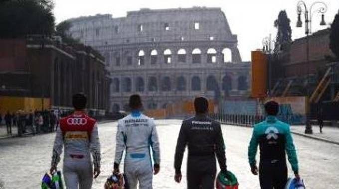 Formula E a Roma (da Qn)