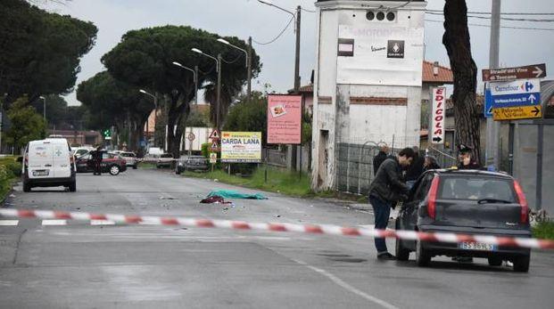 Il luogo dell'incidente (foto Paola Nizza)