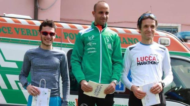 Il podio maschile (foto Regalami un sorriso onlus)