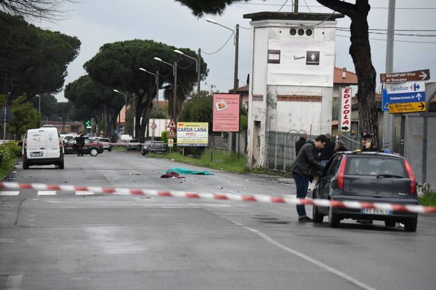 Tragico incidente a Massa (foto Nizza)