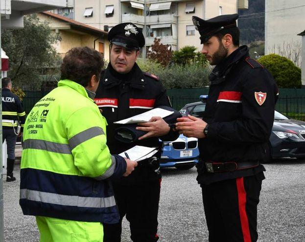 Tragico incidente a Massa (foto Nizza)