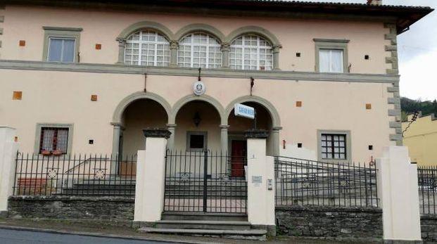 La stazione dei carabinieri di Castel del Rio