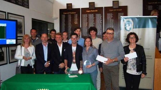 Il gruppo dei premiati a Punta Ala