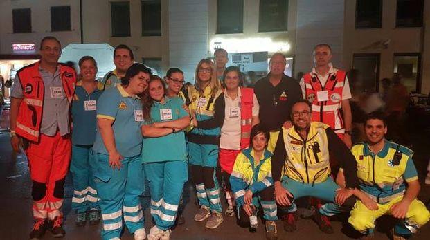I volontari della Misericordia di Monsummano