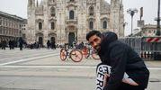 Filippo Magnini a Milano, da Instagram