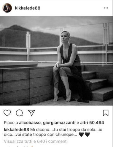 Federica Pellegrini e la 'frecciatina' sul suo profilo Instagram