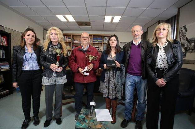 Da sinistra Agnese  Pini,  Monica  Francesconi, Pierangelo Baraglia, Valentina Zinzula, Paolo Pinzani,  Patrizia Lucignani (Giuseppe Cabras/New  Press Photo)