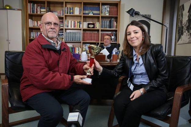 Pierangelo Baraglia e Agnese Pini  (Giuseppe Cabras/New Press Photo)