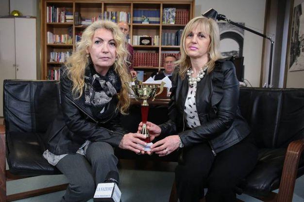 Monica  Francesconi e Patrizia Lucignani  (Giuseppe Cabras/New Press Photo)