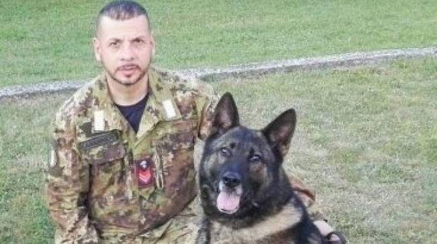 L'unità cinofila dei carabinieri