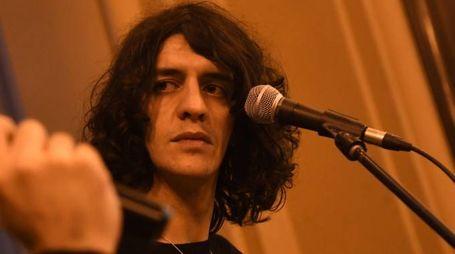 Il cantautore Francesco Motta