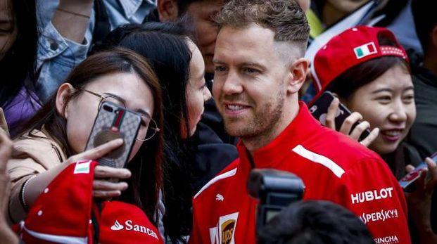Formula 1 Gp Cina 2018, Sebastian Vettel (Ansa)