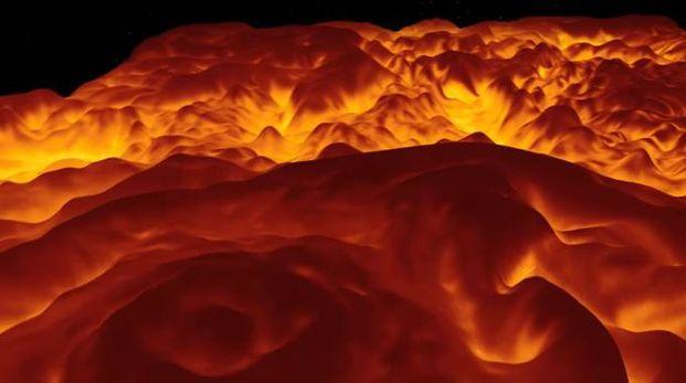 Uno screenshot del video – Foto: NASA
