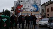In maggio altre cinque pareti della città prenderanno vita grazie ai lavori di altrettanti street artist di fama internazionale (Foto Fantini)