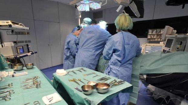 Una sala operatoria (foto di repertorio Newpress)