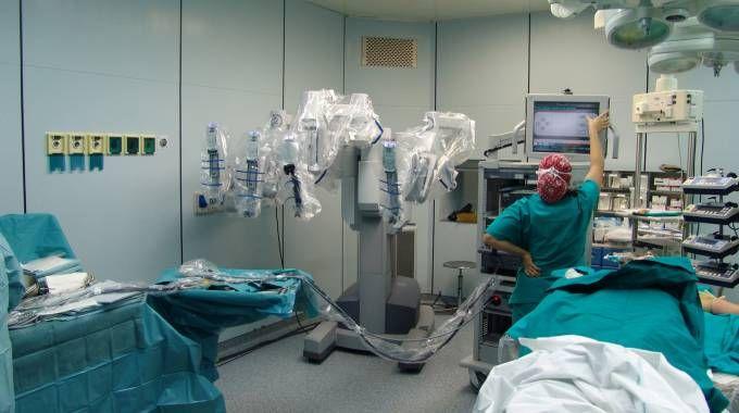 Una sala operatoria (Ansa)
